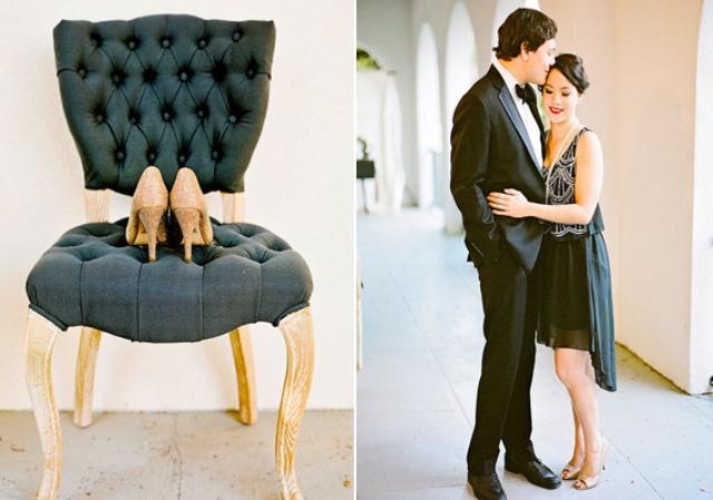 Gorgeous Art Deco Engagement Shoot