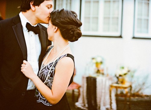 Gorgeous Art Deco Engagement Shoot
