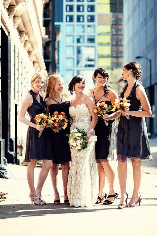 34 Gorgeous Fall Bridesmaids' Dresses