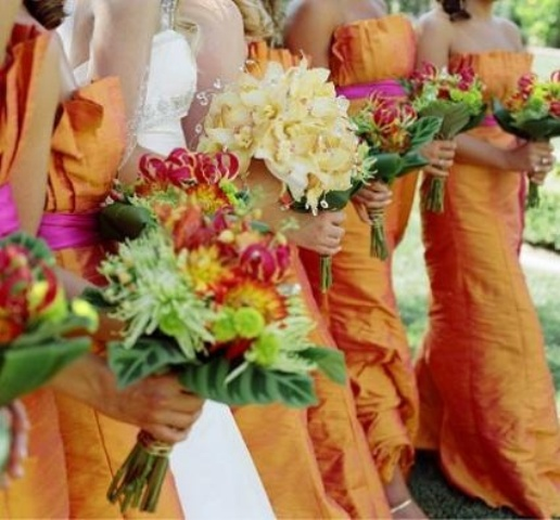 Gorgeous Fall Bridesmaids Dresses