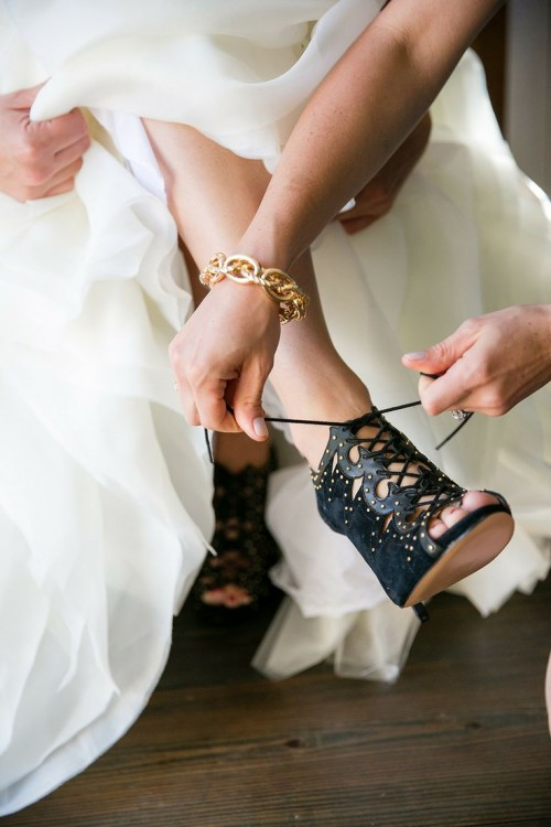 26 Gorgeous Halloween And Gothic Wedding Shoes