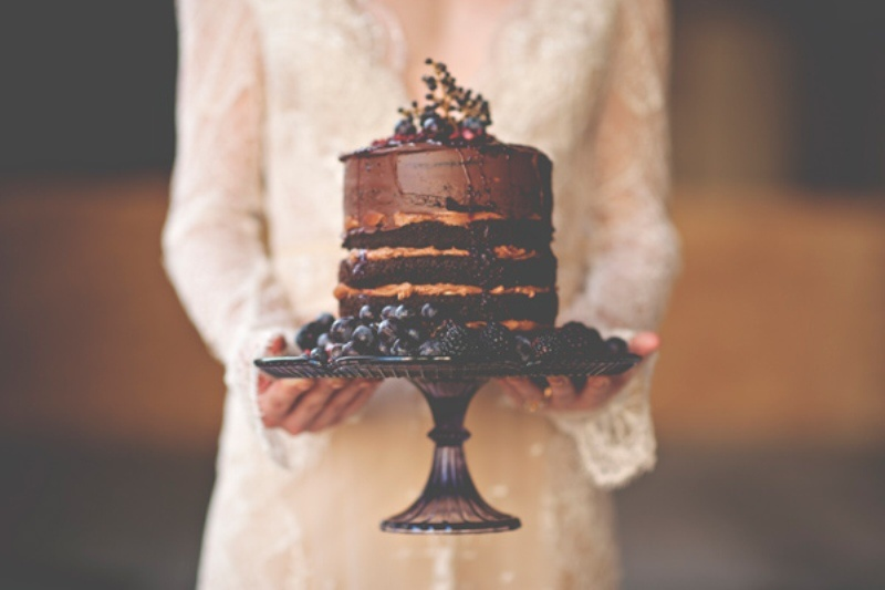 Picture Of gorgeous industrial fall wedding inspiration  14