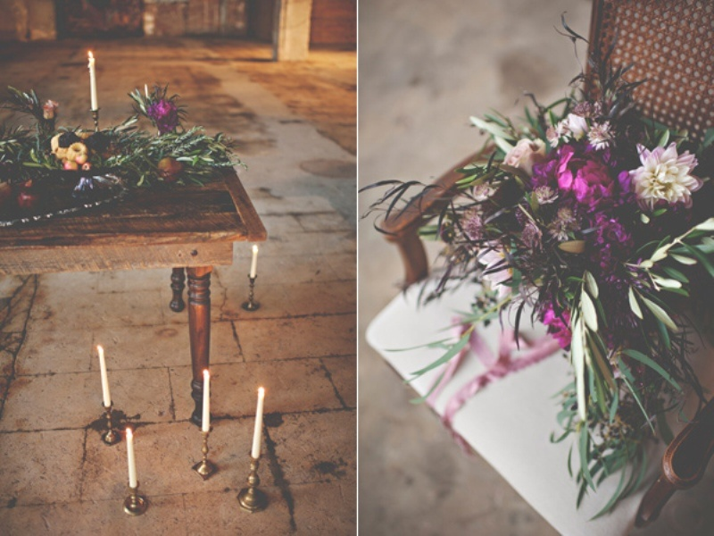 Picture Of gorgeous industrial fall wedding inspiration  15