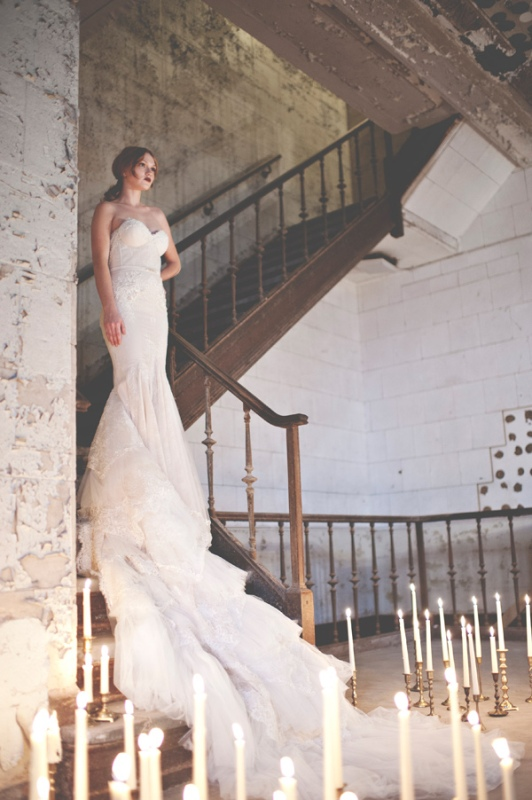 Picture Of gorgeous industrial fall wedding inspiration  16