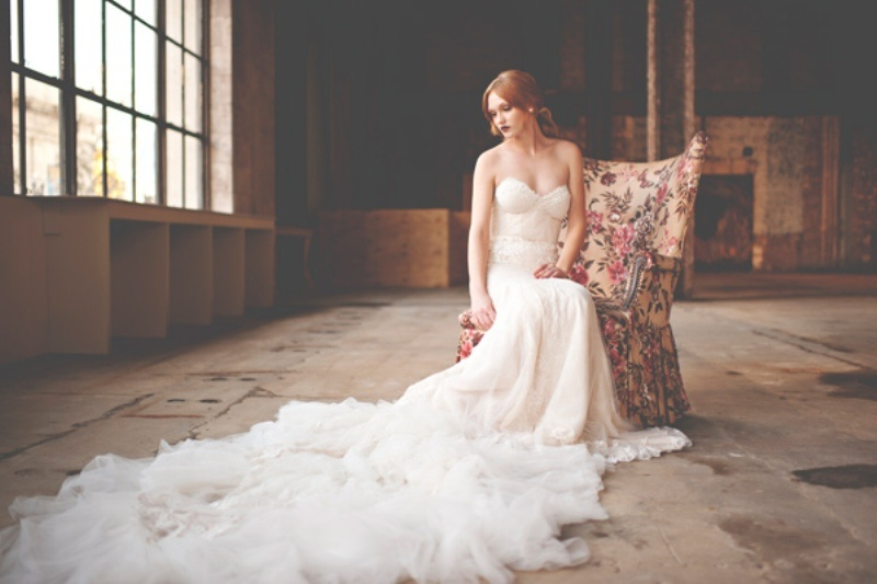 Picture Of gorgeous industrial fall wedding inspiration  18