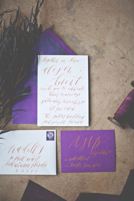 Picture Of gorgeous industrial fall wedding inspiration  2