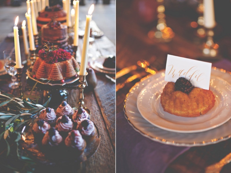 Picture Of gorgeous industrial fall wedding inspiration  5