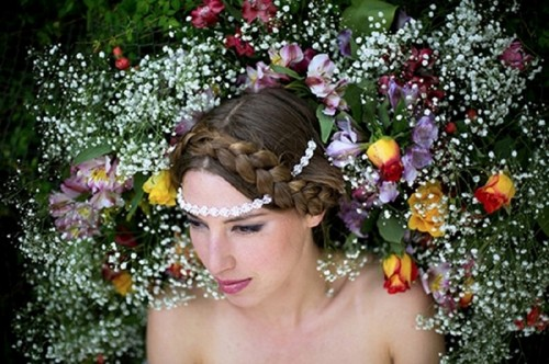 Gorgeous Nature Inspired Paradise Headwear Collection By Rene Walrus