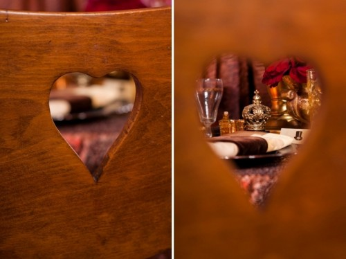 Gorgeous Red And Copper Steampunk Wedding Inspiration