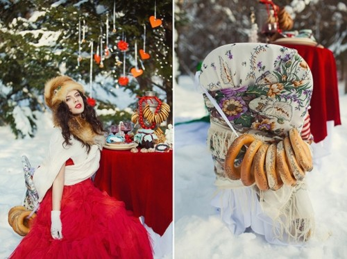 Gorgeous Russian Winter Wedding Inspiration