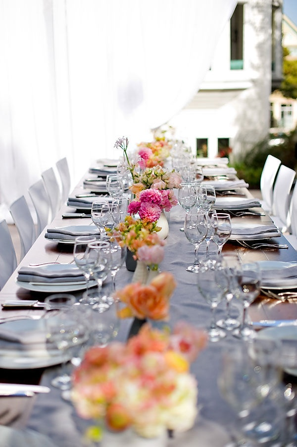 & Picture Of Gorgeous Spring Wedding Table Settings