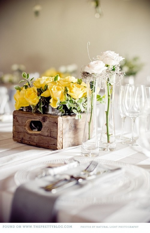 53 Gorgeous Spring Wedding Table Settings