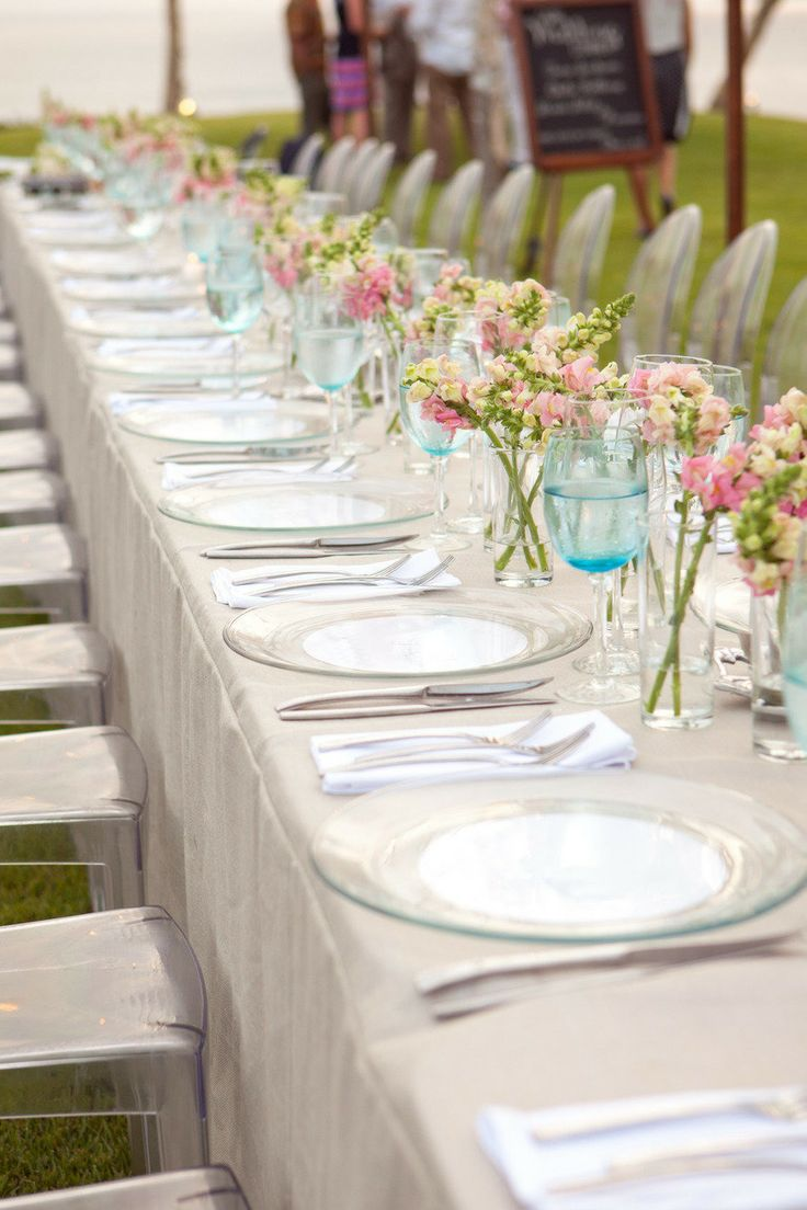 picture of gorgeous spring wedding table settings. Black Bedroom Furniture Sets. Home Design Ideas