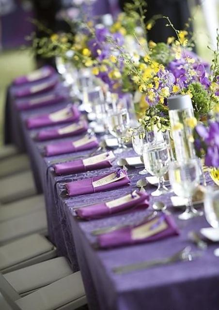53 Gorgeous Spring Wedding Table Settings - Weddingomania