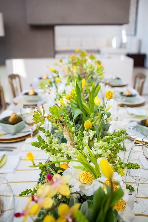 Gorgeous Spring Wedding Table Settings