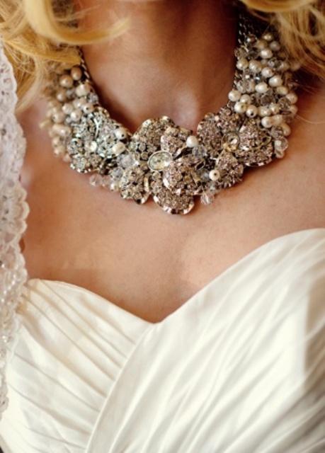 Gorgeous Statement Bridal Accessories