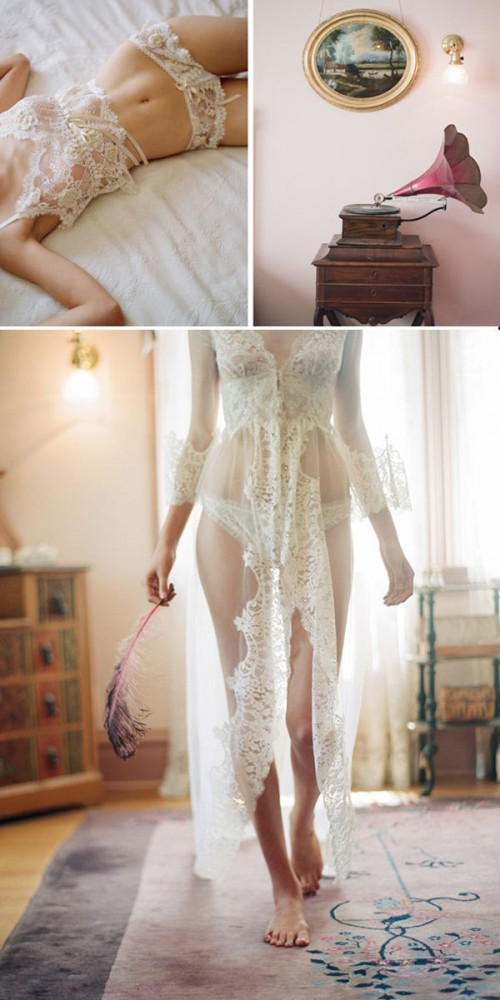 Gorgeous Vintage Inspired Lingerie By Claire Pettibone