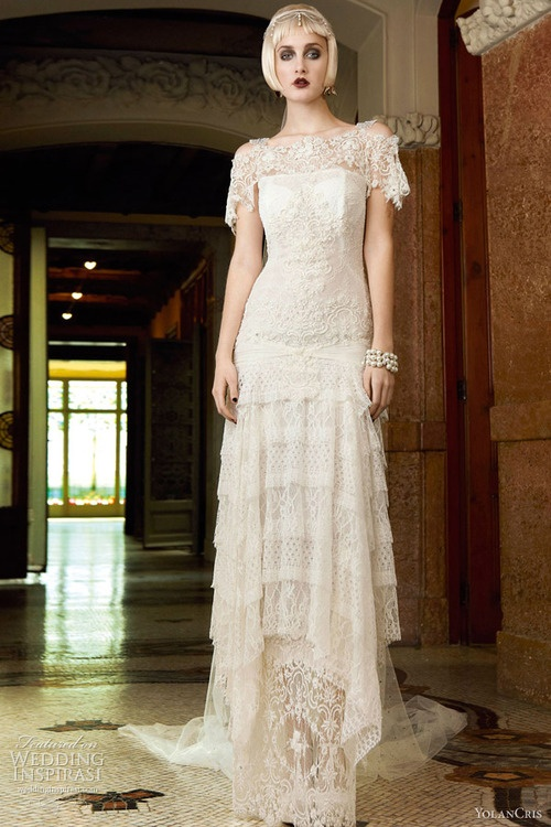 Picture Of Gorgeous Vintage Wedding Dresses - Vintage Wedding Dresses