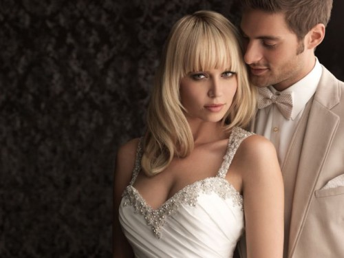 Gorgeous Wedding Gowns With Sweetheart Tops By Allure Bridals