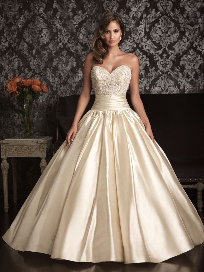 Allure Wedding Dress Size Chart