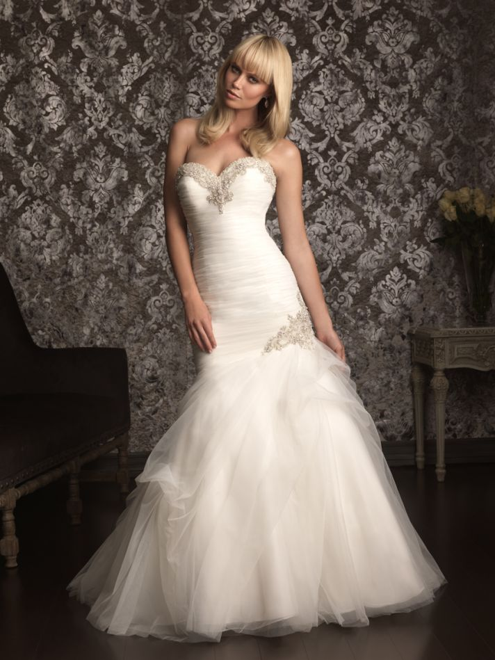 Picture Of Gorgeous Wedding Gowns By Allure Bridals