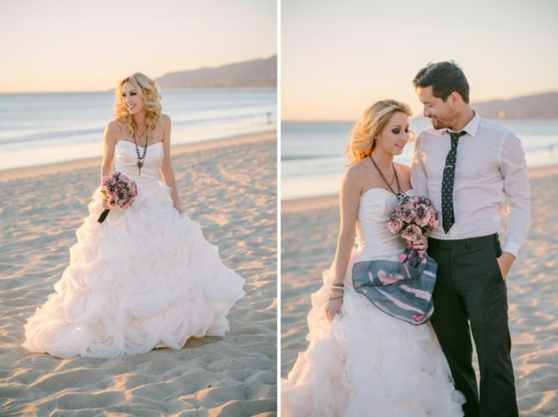 Picture Of gothic meets modern romance wedding inspiration  12