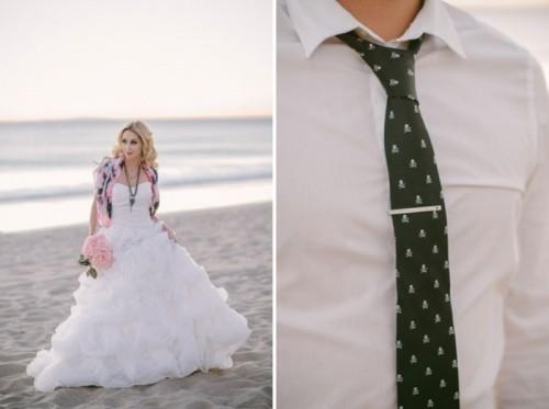 Gothic Meets Modern Romance Wedding Inspiration