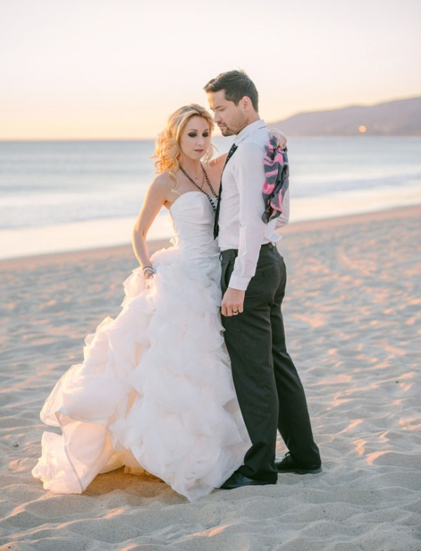 Picture Of gothic meets modern romance wedding inspiration  16