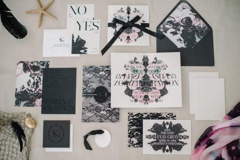 Picture Of gothic meets modern romance wedding inspiration  2