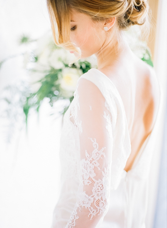 Picture Of gray and white garden wedding inspiration  17