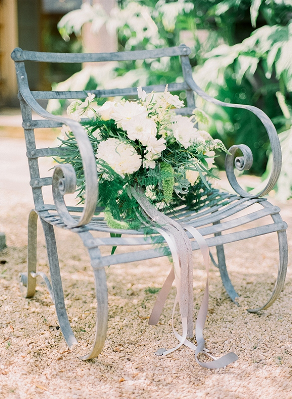 Picture Of gray and white garden wedding inspiration  8