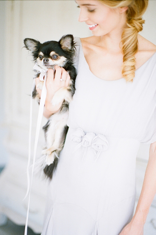 Picture Of gray and white garden wedding inspiration  9