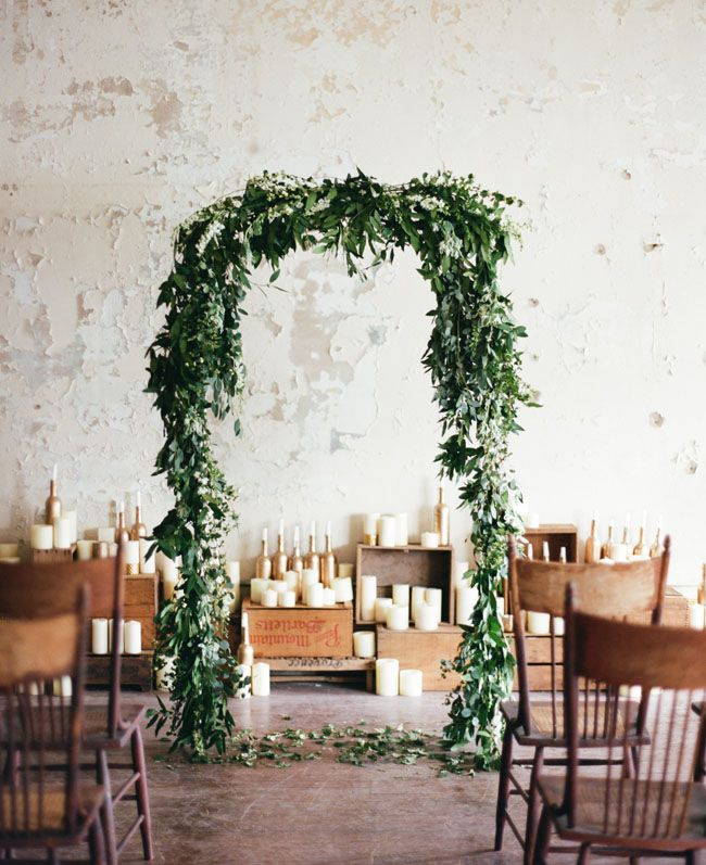 Picture Of greenery spring wedding decor ideas youll love  20