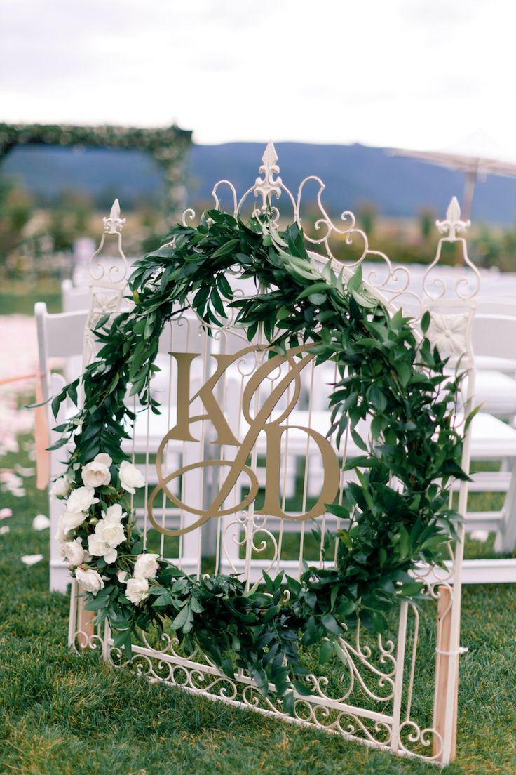 Picture Of greenery spring wedding decor ideas youll love  25