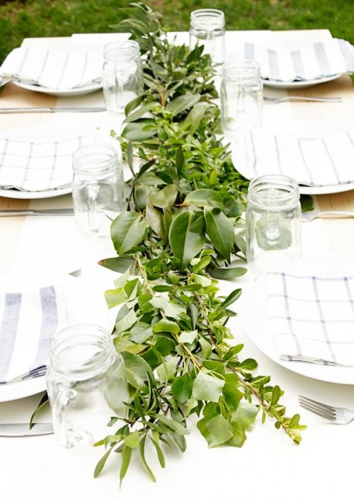 Fresh Greenery Details For A Spring Wedding