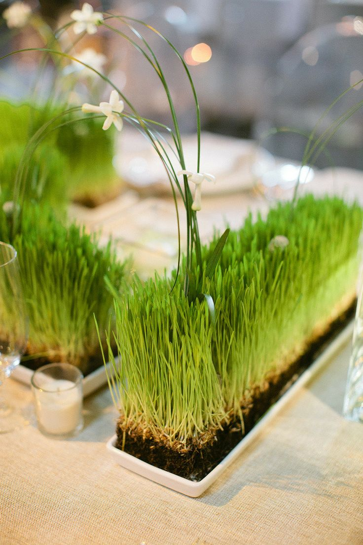 Picture of greenery spring wedding decor ideas youll love