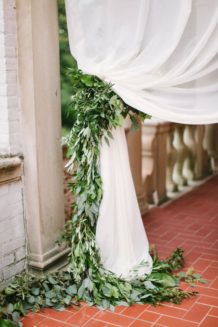 Picture Of greenery spring wedding decor ideas youll love  6