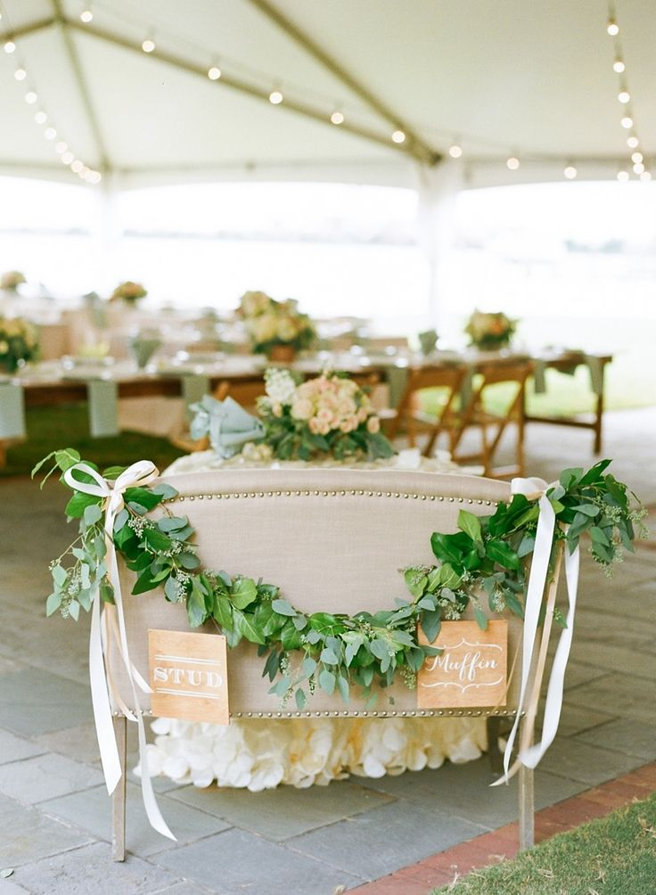 Picture Of greenery spring wedding decor ideas youll love  9
