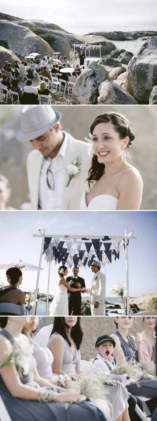 Grey And White South African Destination Wedding