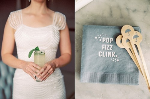 Grey And Yellow Wedding Inspiration With Mint Touches