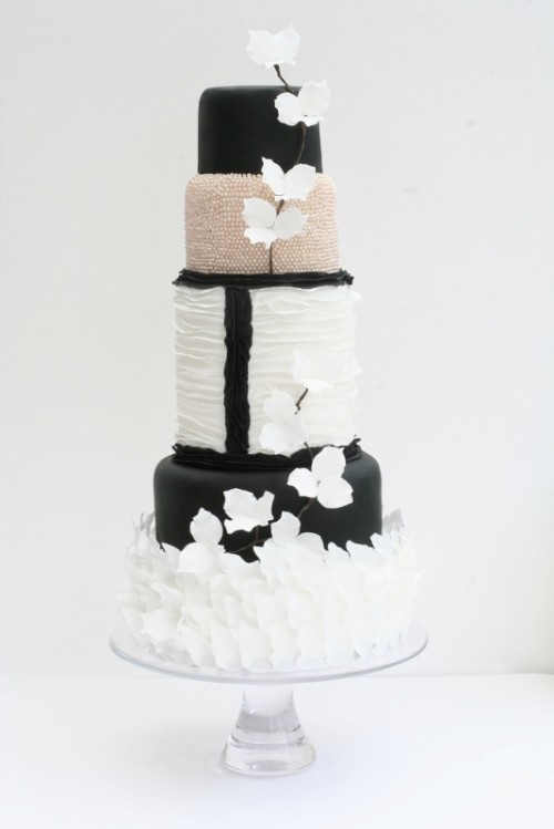 Hand Baked Contemporary Beautiful Cakes By Victoria Made