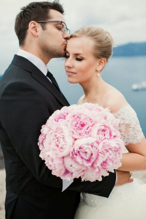 Heavenly Beautiful Destination Wedding In Santorini, Greece