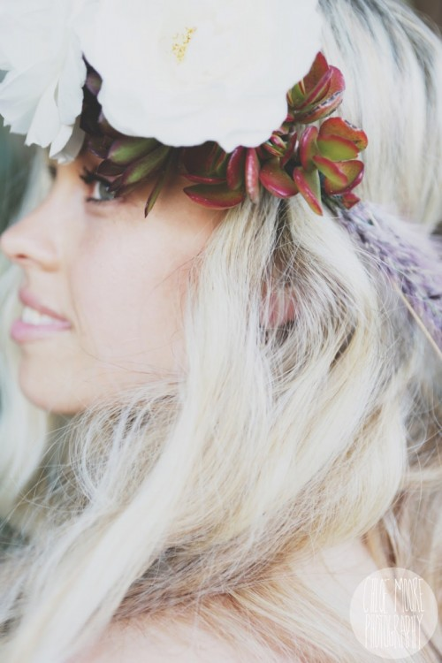 Hippie Inspired Diy Flower Crown