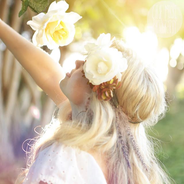 Hippie Inspired Diy Flower Crown