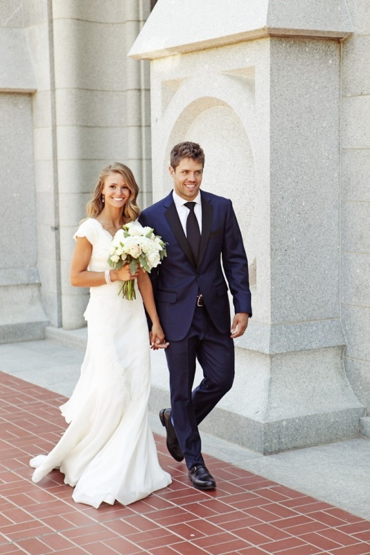 The Hottest 2014 Wedding Trend: 30 Navy Suits For Grooms - Weddingomania