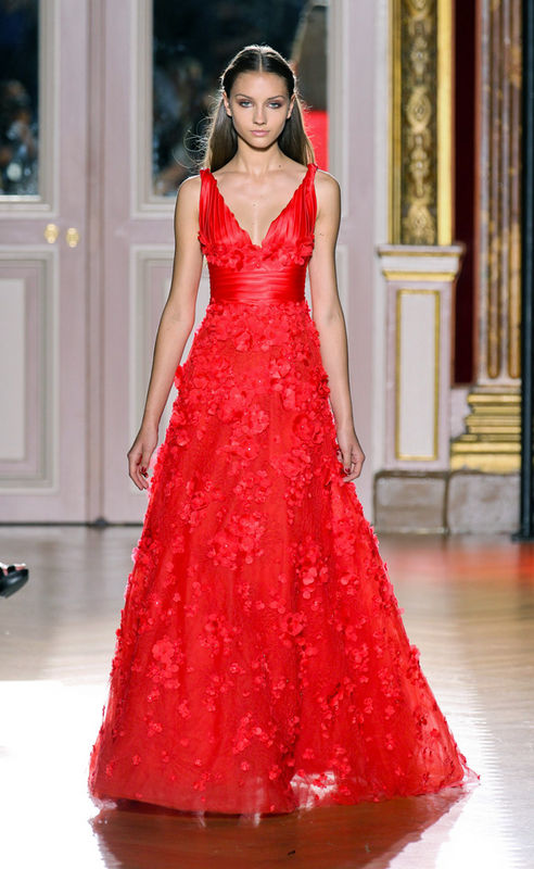 hot red wedding dresses