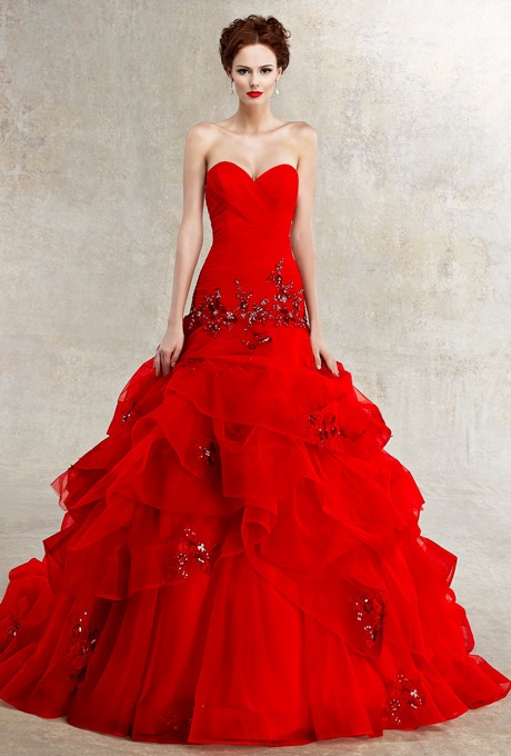 Hot Red Wedding Dresses - Wedding Short Dresses