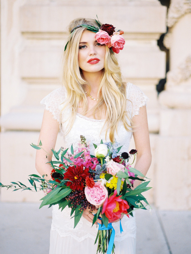 Picture Of hottest flower trends for 2015 and examples  1