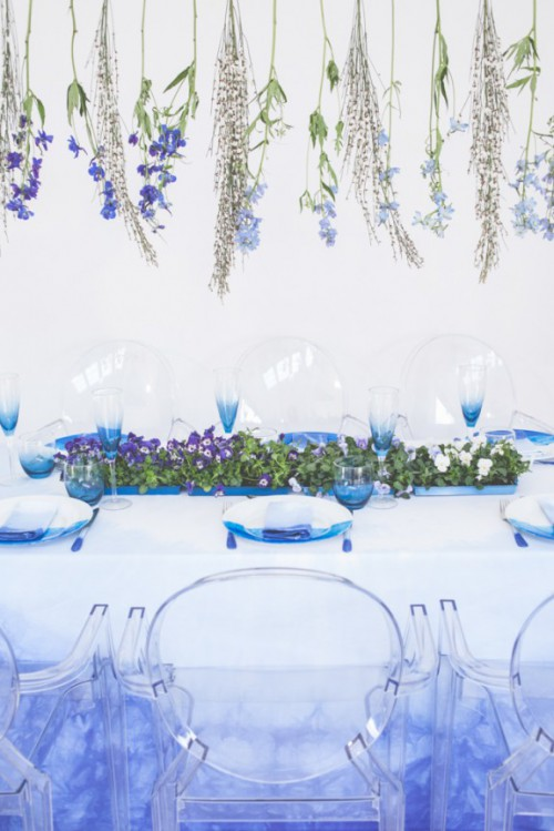 How To Dip Dye Textiles For Your Big Day