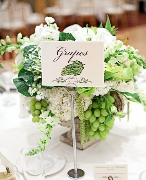 How To Incorporate Fruits Into Your Wedding: 22 Fresh Ideas